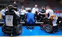 Sähköpyörätuolisalibandymaajoukkueelle hopeaa lupauksia herättäneellä esityksellä Italian turnauksesta.